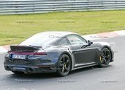 Porsche 911 Turbo Shows Its Ducktail In New Spy Shots - image 945006