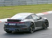 Porsche 911 Turbo Shows Its Ducktail In New Spy Shots - image 945007