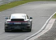Porsche 911 Turbo Shows Its Ducktail In New Spy Shots - image 945009