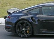 Porsche 911 Turbo Shows Its Ducktail In New Spy Shots - image 945010