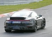 Porsche 911 Turbo Shows Its Ducktail In New Spy Shots - image 945008