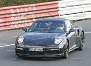 Porsche 911 Turbo Shows Its Ducktail In New Spy Shots - image 944995