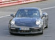 Porsche 911 Turbo Shows Its Ducktail In New Spy Shots - image 944996