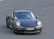 Porsche 911 Turbo Shows Its Ducktail In New Spy Shots - image 944997