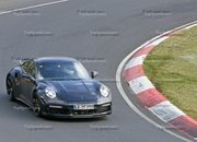 Porsche 911 Turbo Shows Its Ducktail In New Spy Shots - image 944998