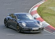 Porsche 911 Turbo Shows Its Ducktail In New Spy Shots - image 944999