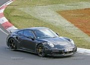 Porsche 911 Turbo Shows Its Ducktail In New Spy Shots - image 945000