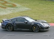 Porsche 911 Turbo Shows Its Ducktail In New Spy Shots - image 945002