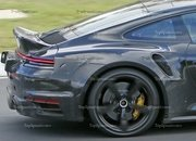 Porsche 911 Turbo Shows Its Ducktail In New Spy Shots - image 944993