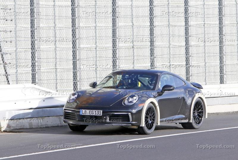 These Spy Shots Could Hint At A New Porsche 911 Safari - Or Is It Something Even Better?