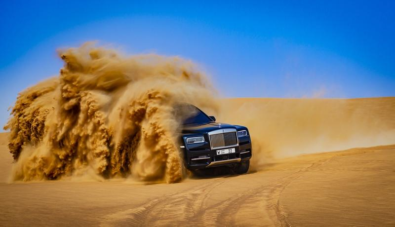 Rolls-Royce Is Still Trying To Convince You To Take Your $330,000 Cullinan Off-Road