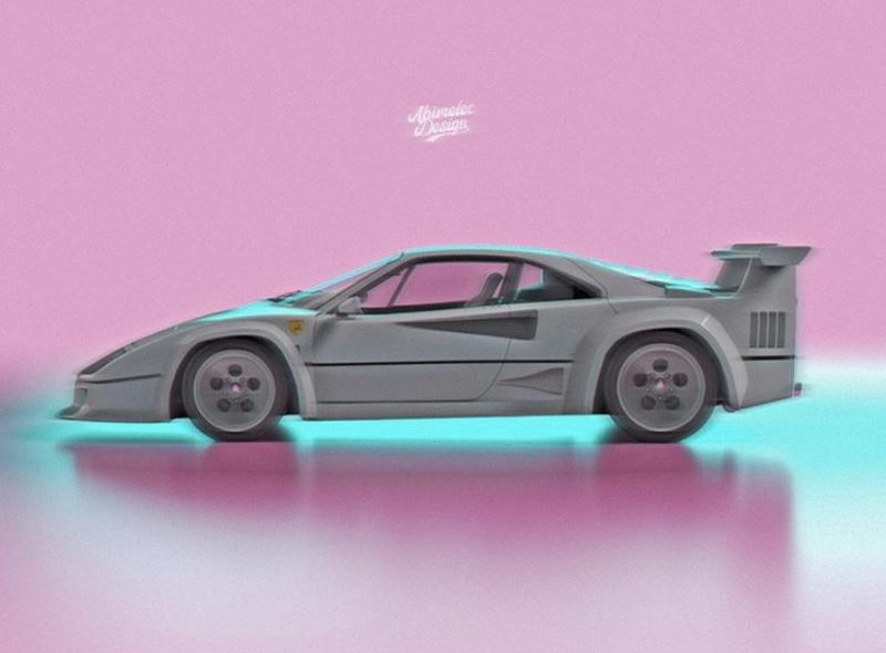 Someone Created the Love Child Between the Ferrari F40 and the Lamborghini Countach And It's Not That Shocking - image 938980