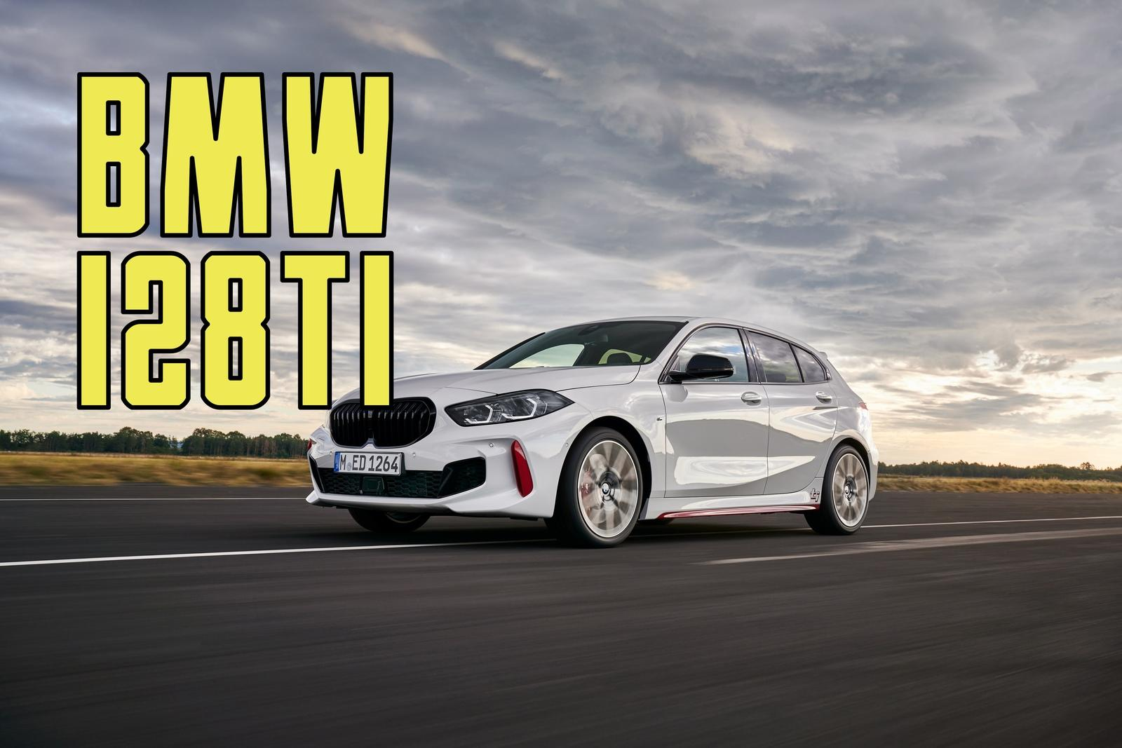 the 2021 bmw 128ti is a detuned m135i aimed at the vw golf gti