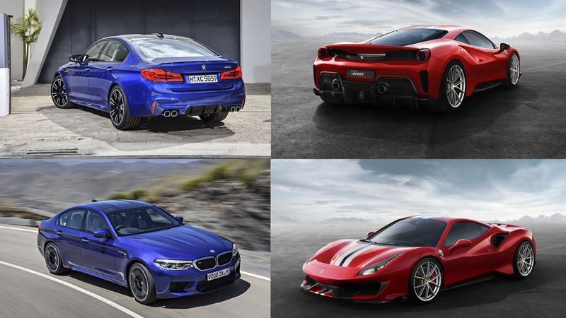 The BMW M5 Competition Can Take On the Ferrari 488 Pista With $8000 In Mods