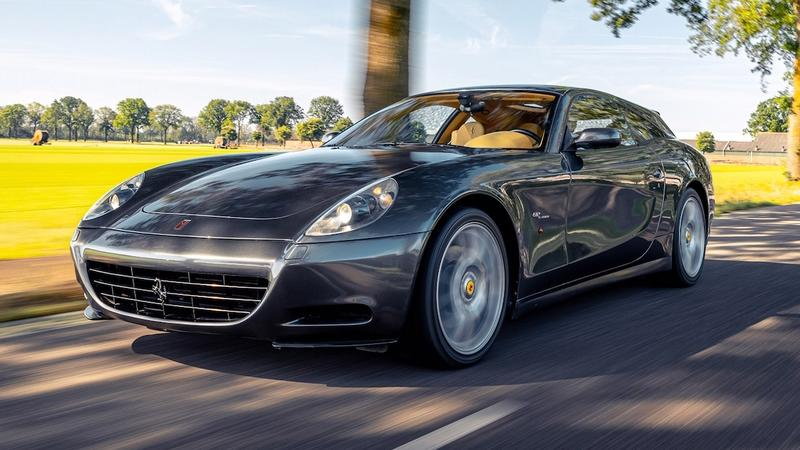 The Ferrari 612 Scaglietti Shooting Brake Is The Most Practical Prancing Horse Ever