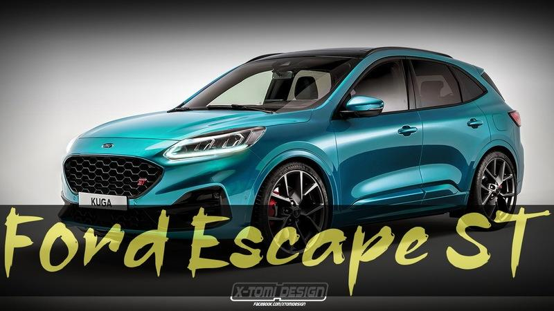 The Ford Escape ST Could Humble The VW Tiguan R and Hyundai Tucson N Line