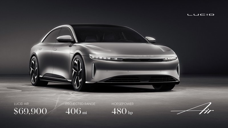 The Lucid Air, In Base Form, Is Pretty Impressive