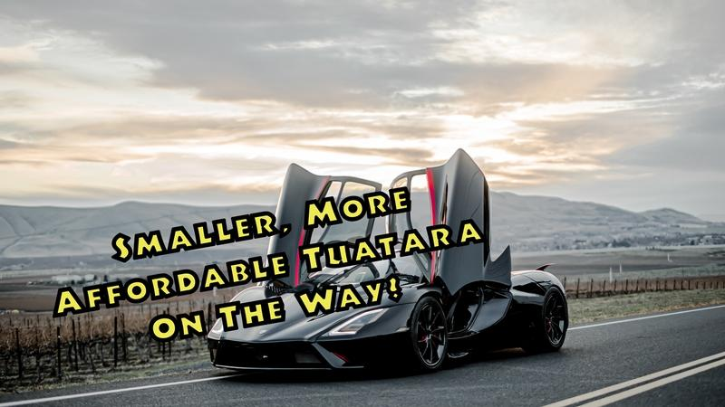 The SSC Tuatara Will Have A Baby Brother