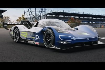 If Aliens Visited Us Today, They Would Be Jealous of How Cool the Volkswagen ID.R Sounds