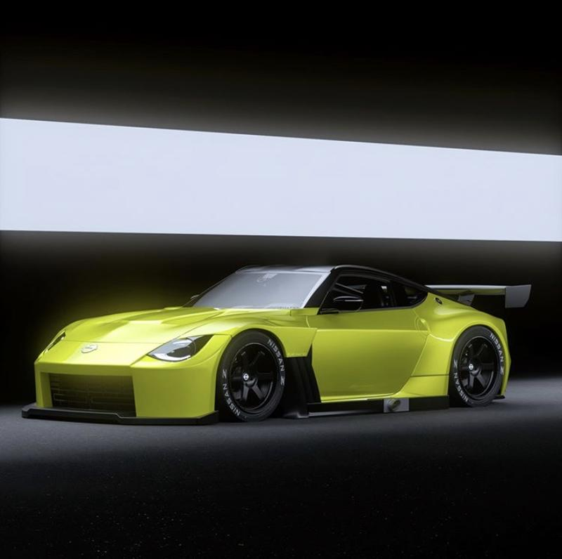 These Renders Prove That The Nissan Proto Z Would Look Amazing As A Race Car