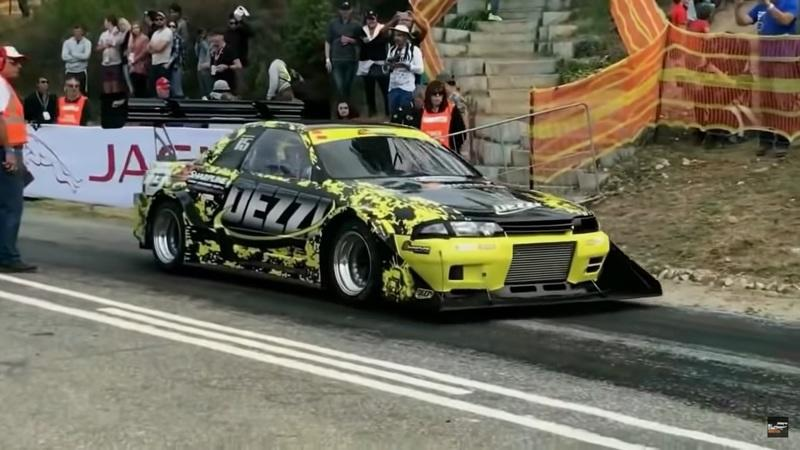 This 1400HP R32 Nissan Skyline Left The Track to Be a Hillclimb Monster