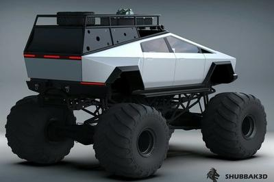 This Is Definitely What The Tesla Cybertruck Should Look Like
