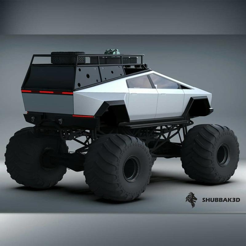 This Is Definitely What The Tesla Cybertruck Should Look Like - image 941360