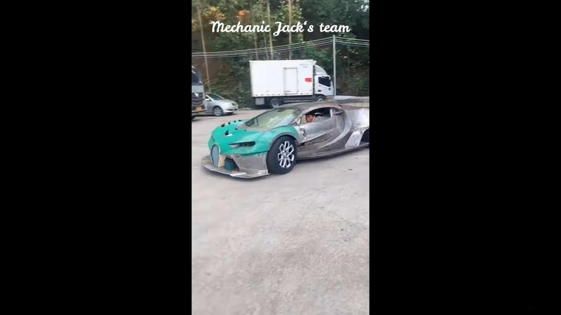 This Time Lapse of a Homemade Bugatti Is Mind Boggling - image 941545