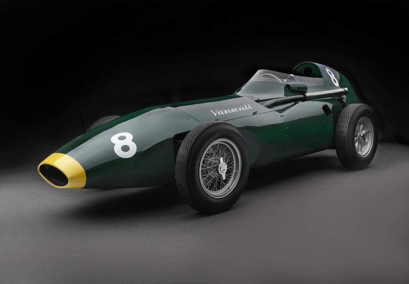 This Reborn Vanwall Formula 1 Car Has a Seizure-Inducing Price Tag