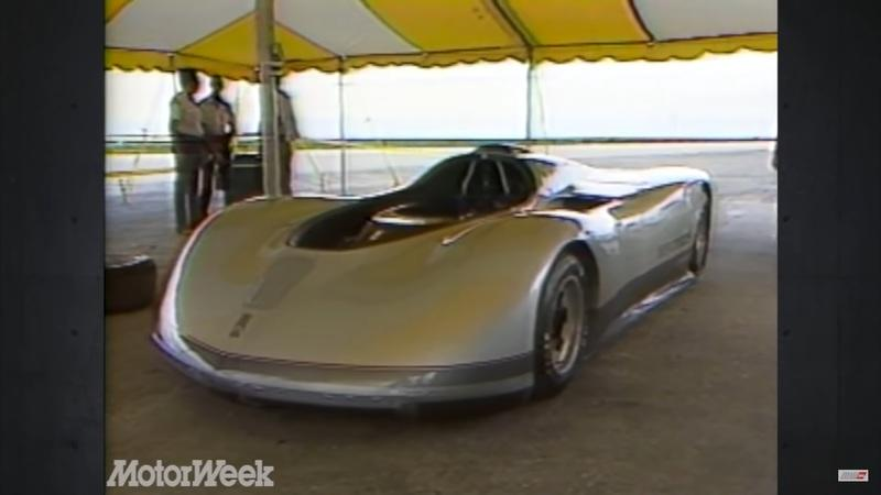 VIDEO: Oldsmobile's Rolling Lab From The '80s Was A 300 MPH Beast