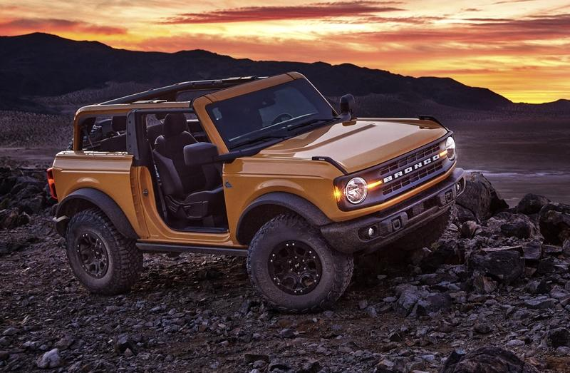 Would You Have Preferred The Bronco With A Foldable Windshield?