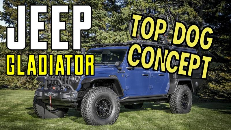 2020 Jeep Gladiator Top Dog Concept by Mopar