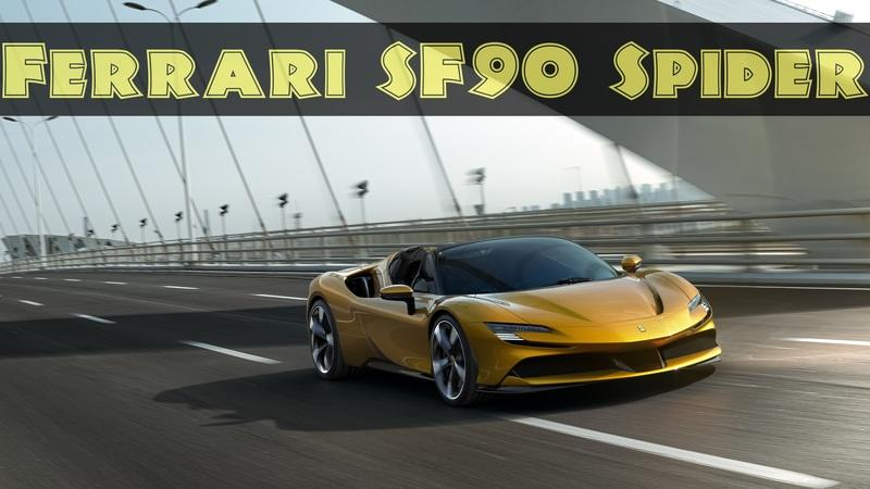 2021 Ferrari SF90 Spider - All The Power and Infinite Headroom