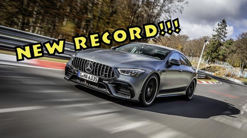 The 2021 Mercedes-AMG GT 63 4-Door S Set a New Nürburgring Record