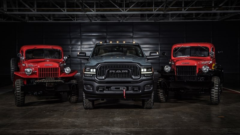 2021 Ram Power Wagon 75th Anniversary Edition Exterior - image 946777