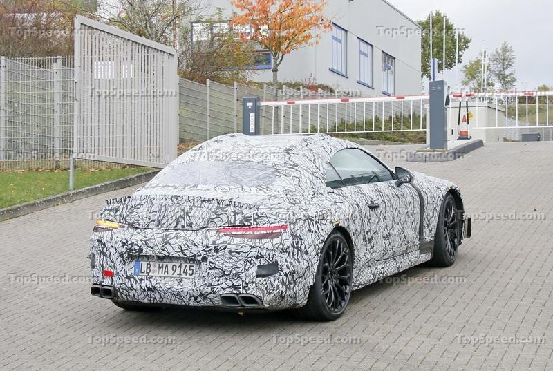 AMG's Plans for the Future Are Better Than You Thought Exterior Spyshots - image 948109