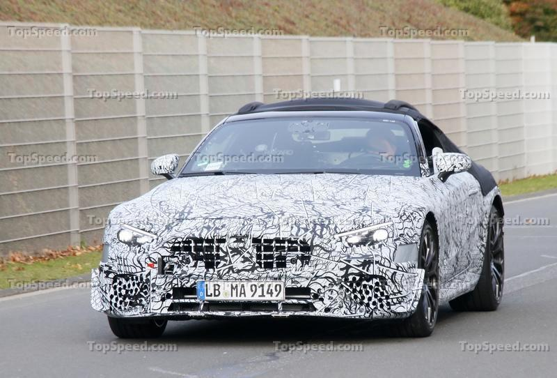 AMG's Plans for the Future Are Better Than You Thought Exterior Spyshots - image 948113
