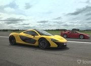 A Ferrari F40 and a McLaren P1? You HAVE To See This Drag Race - image 946491