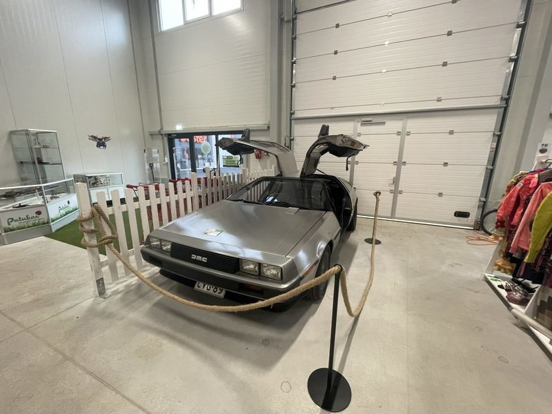 A Flea Market in Estonia Is The Last Place You'd Find a DMC DeLorean
