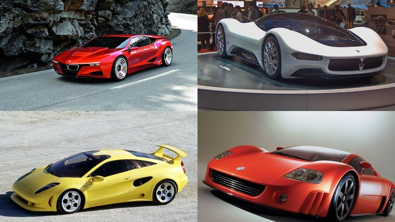 Amazing European Concepts That Never Made it To Production