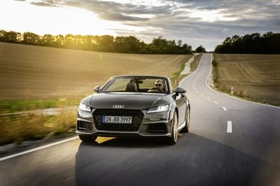 2021 Audi TT Coupé and Roadster bronze selection