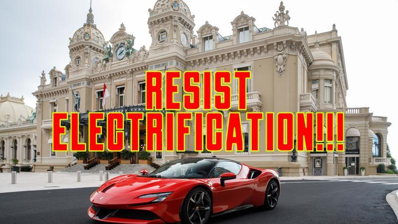 Ferrari and Electrification Will Never Be a Match Made In Heaven
