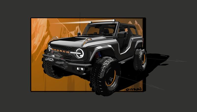 2021 Ford Bronco Badlands Sasquatch 2-Door Concept