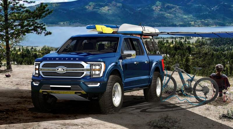 2021 Ford F-150 Limited Hybrid SuperCrew by BDS Suspension