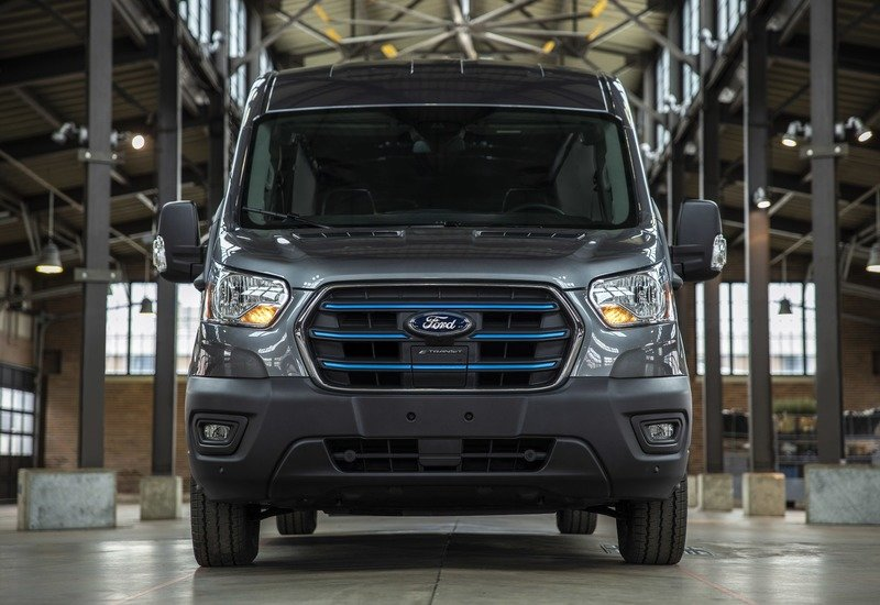 Ford Unveils The 2022 E-Transit Electric Van Exterior - image 947499
