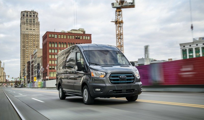 Ford Unveils The 2022 E-Transit Electric Van