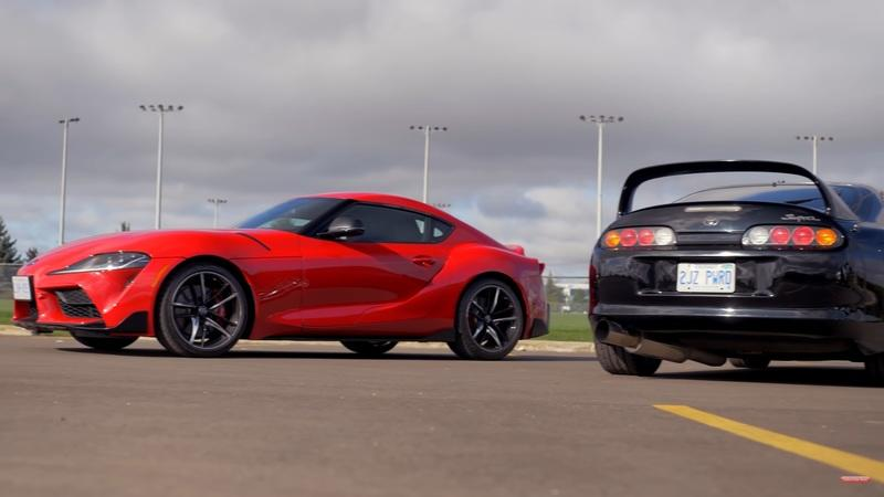 Generation Gap: Is the 1994 Supra Better Than the New 2021 Supra?