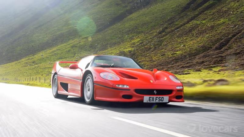 Here's Why the Ferrari F50 Is Better Than the F40