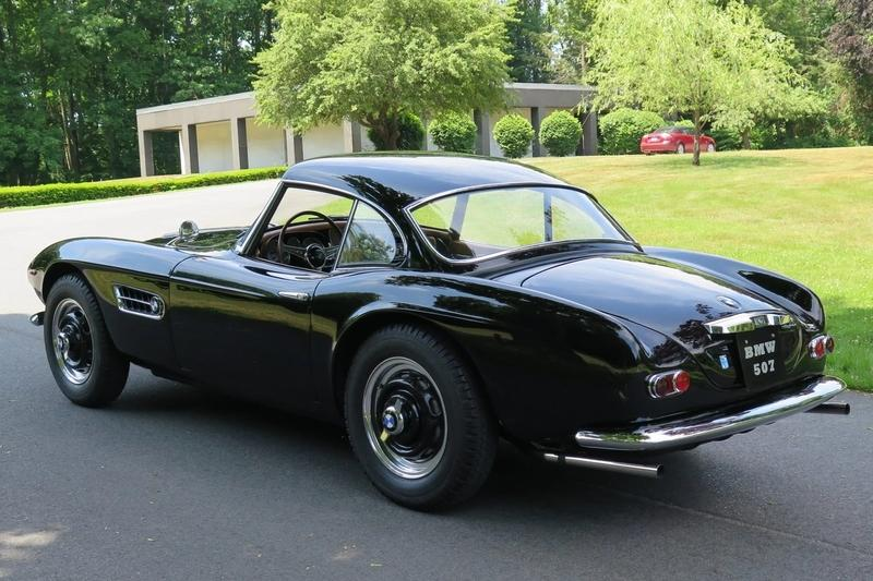 Historical Car for Sale: 1957 BMW 507 Series II Hardtop