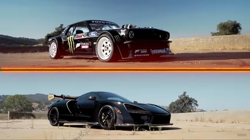 Hoonicorn Stares Down the McLaren Senna in Fantasy Drag Race Come to Life